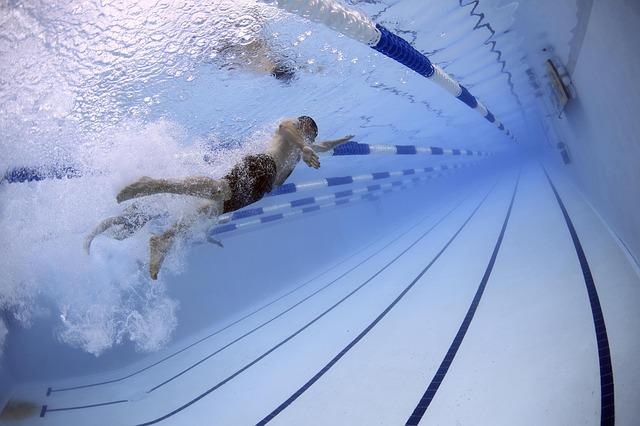 závod v plavání