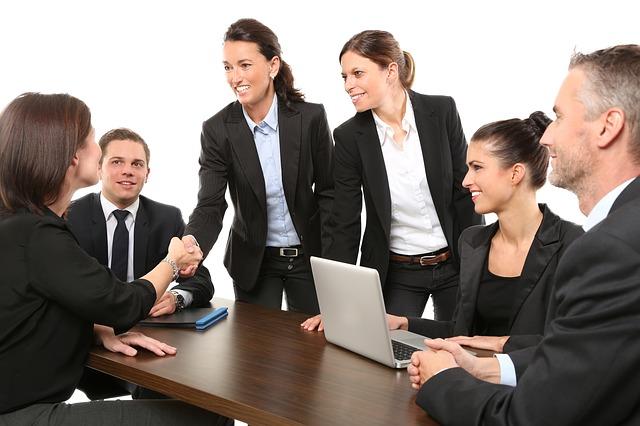 schůzka zaměstnanců